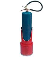 suporte-para-extintor-pintado-azul-vermelho